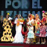 Éxito del desfile de moda flamenca organizado por AFA Bailén