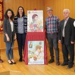 La bailenense Laura Ortíz con Ella, valiente y heroica ganadora del Concurso de Carteles de Fiestas